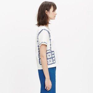 Madewell Embroidered Short-Sleeve Tee NWT M